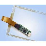 Resistive touch screen control boards